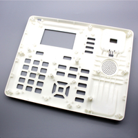 Custom PC + ABS Injection Molded Plastic Shell Network Telephone Front Cover